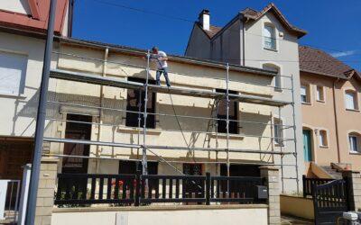 Rénovation de façade à Villers-lès-Nancy